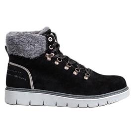McKey Suède laarzen zwart