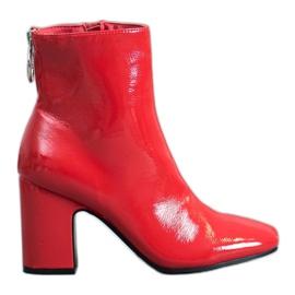 Seastar Gelakte enkellaarsjes rood