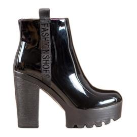 Seastar Gelakte mode laarzen zwart