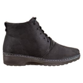 CABIN Comfortabele laarzen zwart