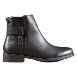 Gogo Zwarte laarzen met ecoleer