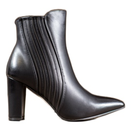 SHELOVET Sexy zwarte laarzen