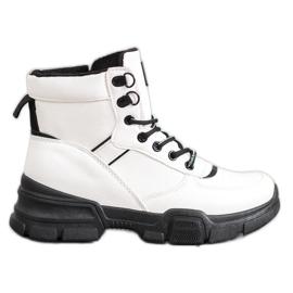 SHELOVET Laarzen Op Modeplatform wit