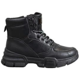 SHELOVET Laarzen Op Modeplatform zwart