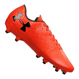 Under Armour Magnetico Select Fg M 3000115-600 voetbalschoenen rood