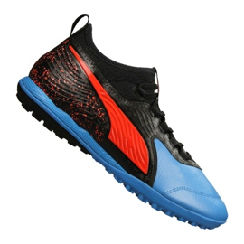 Puma One 19.3 Lth Tt Tr M 105489-01 voetbalschoenen zwart