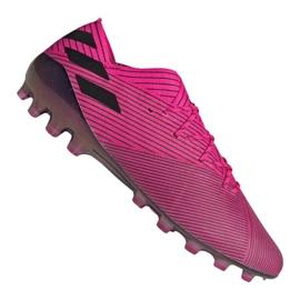 Adidas Nemeziz 19.1 Ag Fg M FU7033 voetbalschoenen roze roze
