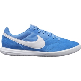 Nike Premier Ii Sala Ic M AV3153 414 voetbalschoenen wit, blauw blauw