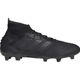 Voetbalschoenen adidas Predator 19.1 Fg M zwart