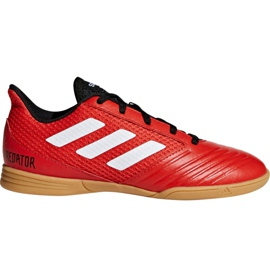 Adidas Predator Tango 18.4 Sala Jr DB2343 voetbalschoenen rood