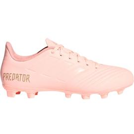 Adidas Predator 18.4 M FxG DB2008 voetbalschoenen roze roze