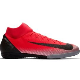Nike Mercurial Superfly X 6 Academy CR7 Ic M AJ3567 600 voetbalschoenen zwart, oranje rood