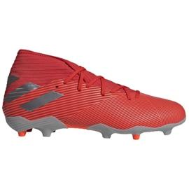 Adidas Nemeziz 19.3 Fg M F34389 voetbalschoenen rood