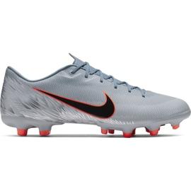 Nike Mercurial Vapor 12 Academy Mg M AH7375 408 voetbalschoenen grijs