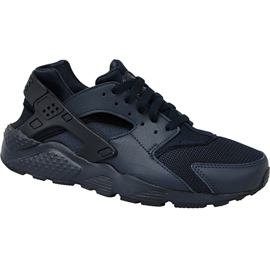 Nike Huarache Run Gs W 654275-403 schoenen zwart