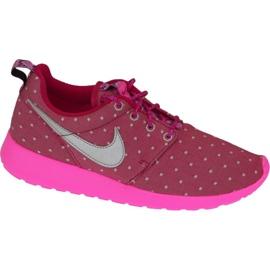 Nike Rosherun Print Gs W schoenen 677784-606 roze