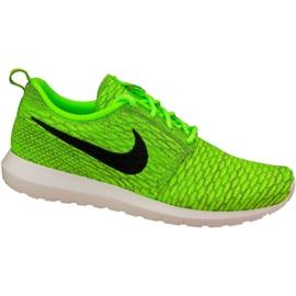 Nike Roshe Nm Flyknit M 677243-700 schoenen groen