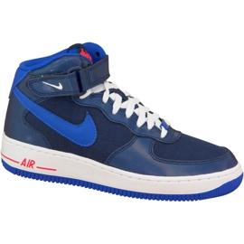 Nike Air Force 1 Mid Gs W 314195-412 schoenen marine