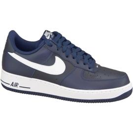 Nike Air Force 1 '07 M 488298-436 schoenen marine