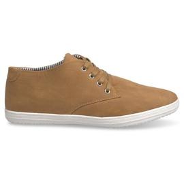Modieuze High 3232 Camel Sneakers bruin