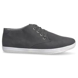 Modieuze hoge sneakers 3232 grijs