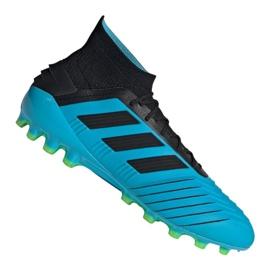 Adidas Predator 19.1 Ag M F99970 voetbalschoenen blauw