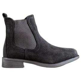 Ideal Shoes Casual Jodhpur-laarzen zwart