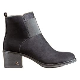 SHELOVET Zwarte laarzen