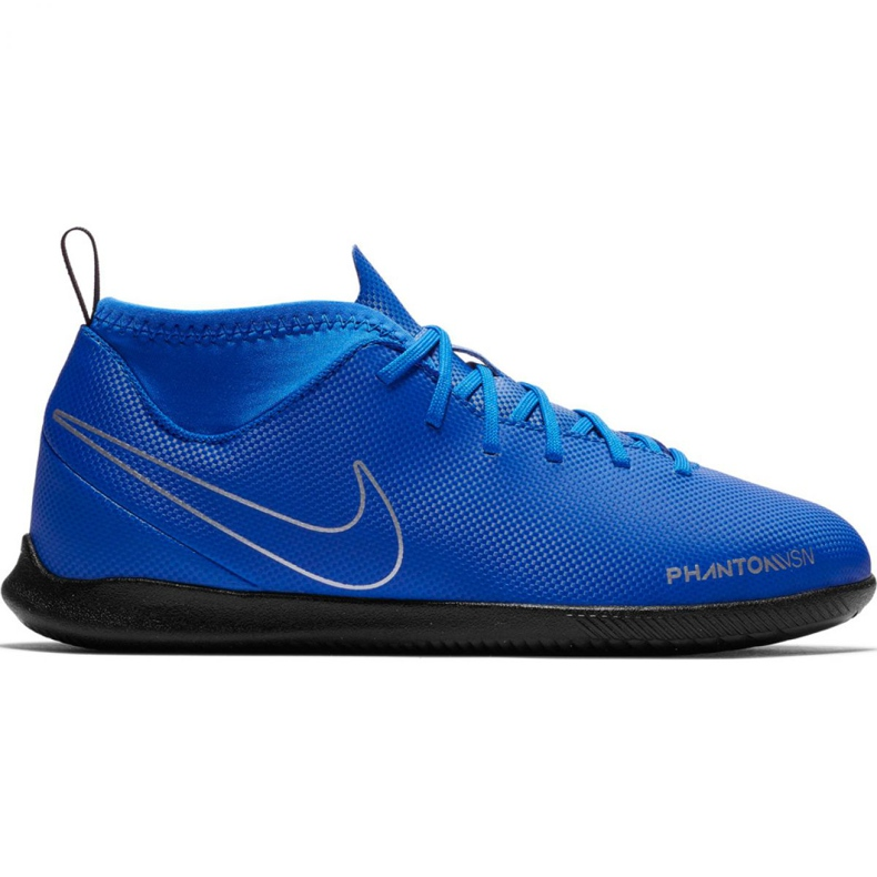 Nike Phantom Vsn Club Df Ic Jr AO3293 400 voetbalschoenen blauw blauw