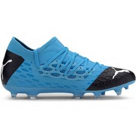 Puma Future 5.3 Netfit Fg Ag M 105756 01 voetbalschoenen blauw blauw
