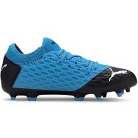 Puma Future 5.4 Fg Ag Jr 105810 01 voetbalschoenen blauw