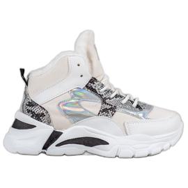 Bella Paris Sneakers met holo-effect