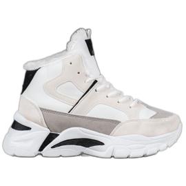 Bella Paris Sneakers met bont