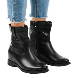 Zwarte geïsoleerde cowboylaarzen G-7607