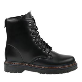 Zwarte mat geïsoleerde laarzen DJH01-1