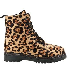 Leopard geïsoleerde laarzen DJH01-18