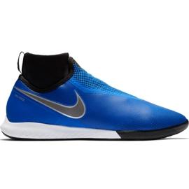 Nike React Phantom Vsn Pro Df Ic M AO3276 400 voetbalschoenen blauw