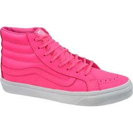 Vans Sk8-Hi Slim W VA32R2MW4 schoenen roze