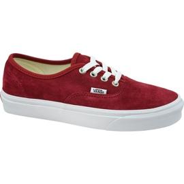 Vans Authentic W VN0A38EMU5M1 schoenen rood