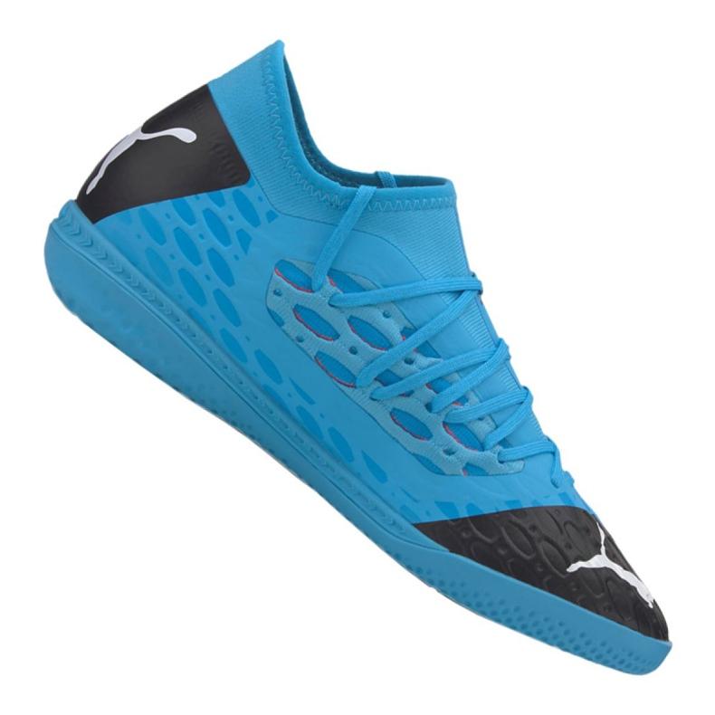 Puma Future 5.3 Netfit It M 105799-01 indoorschoenen blauw blauw