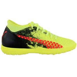 Puma Future 18.4 Tt M 104339 01 voetbalschoenen geel zwart, groen, oranje