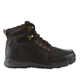 Bruine geïsoleerde wandelschoenen voor heren M70-2E