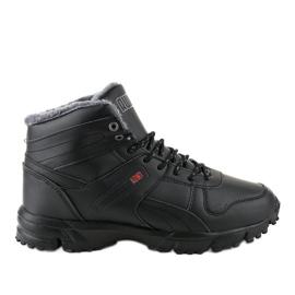 Zwarte geïsoleerde rupsschoenen MC783-1