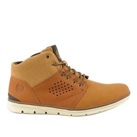 Bruine geïsoleerde wandelschoenen voor heren X926-14