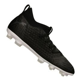 Puma Future 19.3 Netfit Fg / Ag M 105539-02 voetbalschoenen zwart zwart