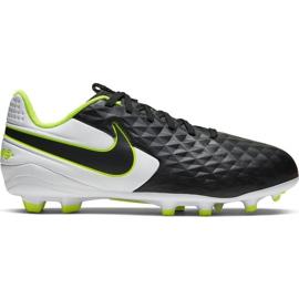 Nike Tiempo Legend 8 Academy FG / MG Jr AT5732-007 voetbalschoenen zwart zwart