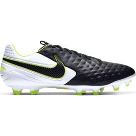 Nike Tiempo Legend 8 Pro Fg M AT6133 007 voetbalschoenen wit, zwart, groen zwart