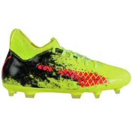 Puma Future 18.3 Fg Ag Fizzy M 104328 01 voetbalschoenen groen groen