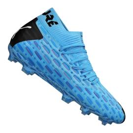 Puma Future 5.1 Netfit Fg / Ag Jr 105805-01 voetbalschoenen blauw blauw