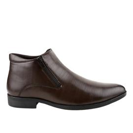 Bruine geïsoleerde lage schoenen HL1002-3